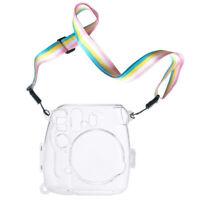 for Fujifilm Instax Mini 8 Mini 8+ Mini 9 Camera Case Bag Cover - Transparent