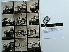 MARILYN MONROE PERSONALLY OWNED USED CONTACT SHEET NOT SIGNED JULIEN AUCTION