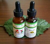 Hair Growth trial Onion garlic pre-shampoo treatment thickening oil collagen