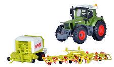 Kibri 12233 Fendt Tracteur avec Outillage de construction Kit de montage H0