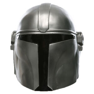 Star Wars The Mandalorian Mask Prop Cosplay Mask Replica Helmet Latex Gift