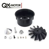 QX-MOTOR 64mm 12 Blades Ducted Fan EDF with Ducted Barrel Accessories