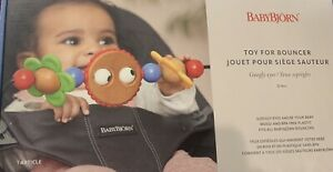 NEW BABYBJORN Wooden Toy for Bouncer - Googly Eyes Free Shipping!!