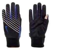 NIKE Mens Lightweight Tech Run Gloves Size XL Black/Signal Blue