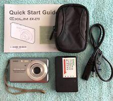 Casio EXILIM EX-Z75 Digital Camera - Silver~~Excellent~~Bundle~~