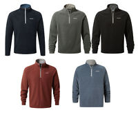 Craghoppers Mens Selby Top Half Zip Lightweight Walking Micro Fleece Quick Dry