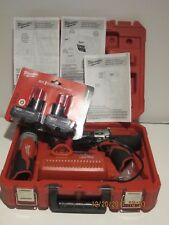 "Milwaukee 2410-22 M12 12-Volt 3/8"" Drill/Driver Kit+FLASHLIHGHT+2X 48-11-2412NEW"