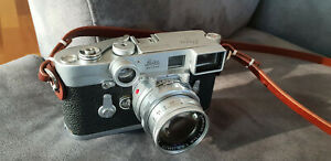 Leica M3 SS ( CLA serviced ) + Leitz summicron 50mm DR with goggles