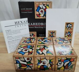 Hexahedron Abstract Matching Game - Alex Beard Untamed Games - Complete