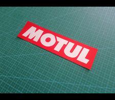 MOTUL JDM RACING drift Car bumper Decal Reflective Sticker