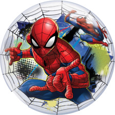 "22"" DISNEY BUBBLE BALLOON ""SPIDER-MAN"" PARTY DECORATION - STRETCHY 54052"