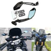 For Honda CBR 600 F3 F4i 900 929 954 Motorcycle Black Aluminum Rear-View Mirrors