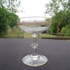 coupe à champagne en cristal de saint louis service Talma Gold  type thistle