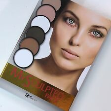it Cosmetics MY SCULPTED FACE Powder Shadow Palette Full Size 6 Color