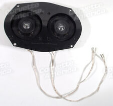 58-67 Corvette Speaker NEW 80 Watt Dual Speaker Plate 26336