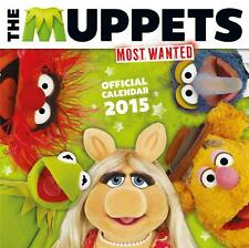SALE !!! SALE !!! UK SQUARE 2015 OFFICIAL WALL CALENDAR OF THE MUPPETS SALE !!!