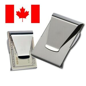 Double Sided Slim Money Clip Cash and Credit Card