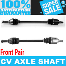 Front 2x CV Joint Axle Shaft for CHEVROLET SPRINT 85-88 Standard Transmission
