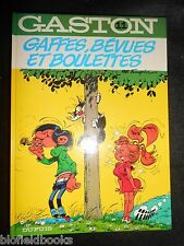 GASTON 11: Gaffes, Bevues et Boulettes - French Comic Strip Cartoon - Franquin