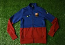 BARCELONA BARCA SPAIN 2009/2010 FOOTBALL TRACK TOP JACKET TRAINING NIKE ORIGINAL