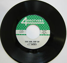 G.L. CROCKETT: Every Hour, Every Day / It's A Man Down There - Northern Soul M-