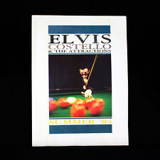 More details for elvis costello and the attractions - tour programme summer 1984
