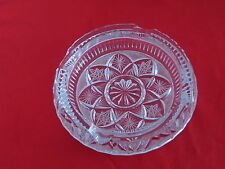 "Vintage Crystal Ash Tray /  Crystal Dish    Ca. 1950's  5.5"" Dia. Beautiful"