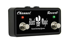 Marshall JCM2000 - DSL 50 or DSL 100 - Replacement Footswitch - Black Magic