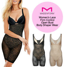 Maidenform feminina de renda firme Controle aberto Busto Body Shaper Wear