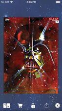 Topps Star Wars Digital Card Trader Darth Vader Aquarelle Insert