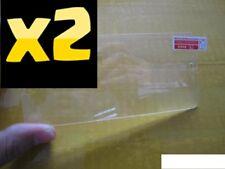 2X 100% Authentique Plastique Transparent Film Protecteur d'écran pour Samsung Galaxy S6