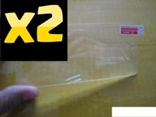 2X 100% Genuino Plástico Transparente Película Protectora De Pantalla Para Apple iPhone se/5S/5