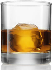 Bormioli Rocco Old Fashioned Whiskey Glasses - 8.5 Ounce - (6 Piece) Bar Glass