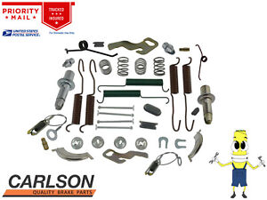 """Complete Rear Brake Drum Hardware Kit for Plymouth Cuda 1970-1972 with 11"""" Drums"""