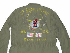 395 Polo Ralph Lauren Mens Lightweight 1950 Military Combat Jacket Coat New 595fef90320fe