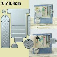 Metal Cutting Dies Stencil DIY Cards Scrapbook Embossing Good Paper Craft X3J