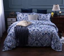 Quilt Duvet Doona Cover Set Queen/King Modern Pattern Printed Mr Cotton H20
