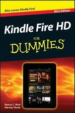Kindle Fire HD for Dummies by Harvey Chute and Nancy C. Muir (2013, Paperback, M