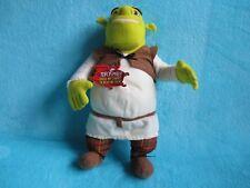 """*TAGS* 2003 Hasbro Shrek 2 - Talking Shrek Ogre Doll Soft Plush Stuffed Toy 14"""""""