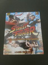 Street Fighter Card Game Ryu vs Chun-Li - New in Box