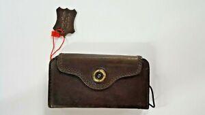 DavisCase, Genuine OEM Apple Brown Leather Case for iPhone 5C, 5S, SE