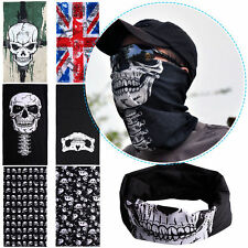 Biker Skull Face Mask Skeleton Ghost Motorcycle Ski Bmx Neck tube motorcycle UK