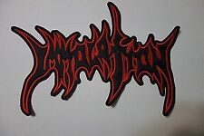 IMMOLATION EMBROIDERED BACK PATCH