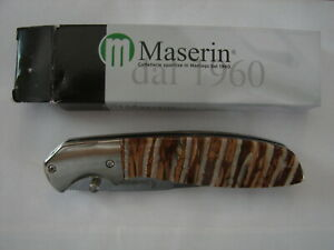 Browning Mammoth Tooth Folding Collectors Knife Made by Maserin Italy 3220256