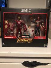 IRON MAN MK XXII 3 Avengers Marvel leggende Infinity War Pepper DIECI ANNI NUOVO