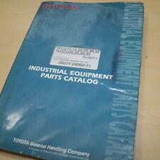 Toyota 7fgu 7fgcu 15 18 20 25 30 32 Forklift Parts Manual Book Catalog Spare Oem