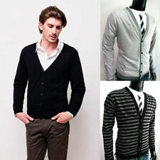 Cotton No Pattern Y Neck Regular Jumpers & Cardigans for Men