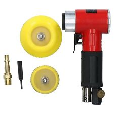 """Mini Air Angle Grinder Polisher and 2&3"""" Backing Pad + 200 Mixed Grit Discs 8328"""