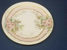 Porzellanfabrik Arzberg Bayern Porcelain China Plate Antique Pink Floral