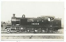 LONDON & NORTH EASTERN RAILWAY - LNER Steam Loco no.1658  Moore R.P. Postcard